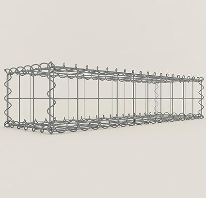 mesh wire 10 x 10 cm Gabions Stone Basket 100 x 60 x 20 cm GABION