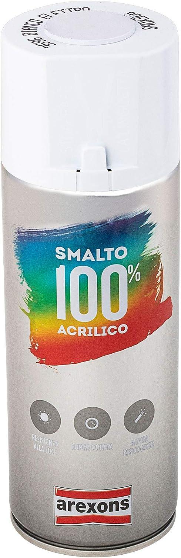 Arexons Nagellack 100 Acryl Elektroweiß 400 Ml Universal Lackspray Hochwertiges Acrylharz Schnell Trocknend Spraydose Einfache Anwendung Baumarkt