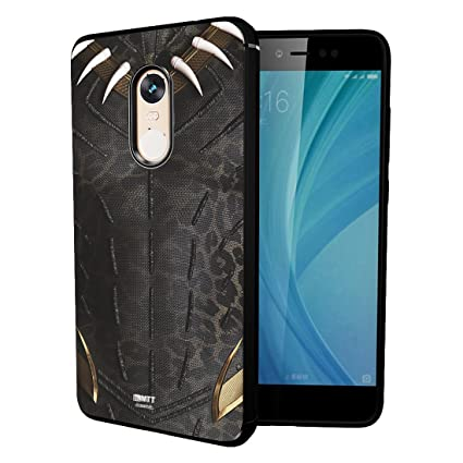 new concept e540d b819b MTT Marvel Black Panther Officially Licensed Tough Armor Back Case Cover  for Xiaomi Redmi Note 4 (D202)