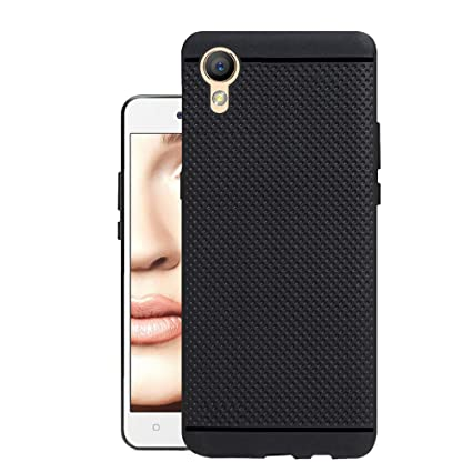 release date: 46ed9 a98d7 Hello Zone Exclusive Dotted Matte Finish Soft Back Case Cover for Oppo  A37-Black