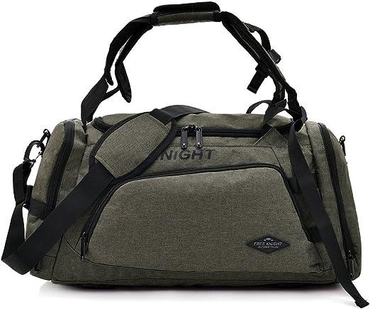 Gym bag Waterproof Nylon Outdoor Bag Large Traveling For Women Men Travel Sport Handbags Green
