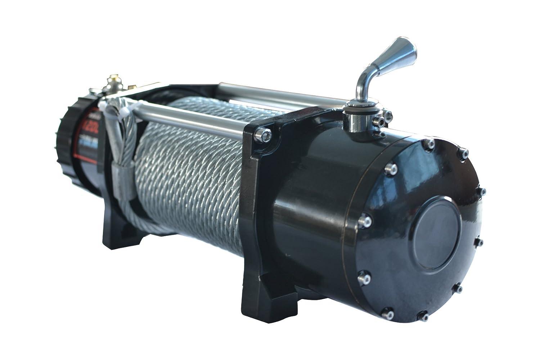 Amazon.com: X-BULL 12V Steel Cable Electric Winch 12000 lb Load Capacity:  Automotive