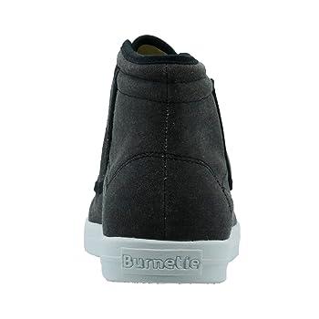 Men's Carbon Black York-Hi High Top Sneaker