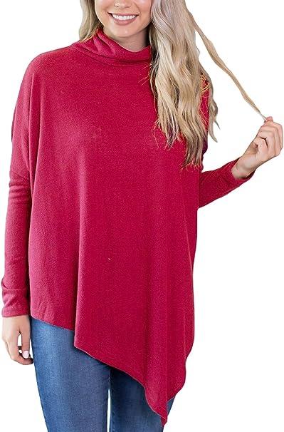 Asymmetrischer Pullover Strick-Shirt Grau Gr 36//38 NEU!