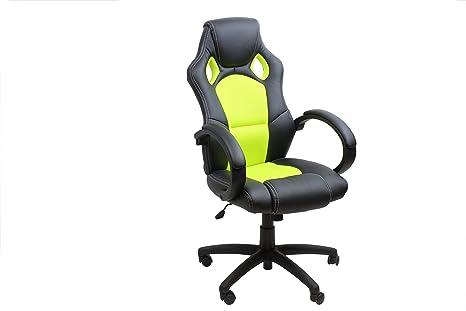 Sedie Ufficio Ecopelle : Avanti trendstore sedia ufficio girevole sportiva verde in