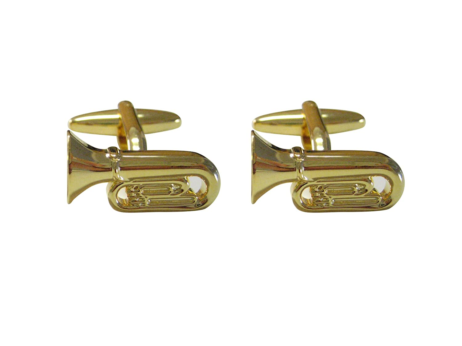 Tuba Musical Instrument Cufflinks UK_B00R3R9PYA