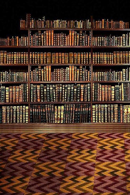 Amazon Com Gladsbuy Shelf Full Of Books 5 X 7 Computer Printed