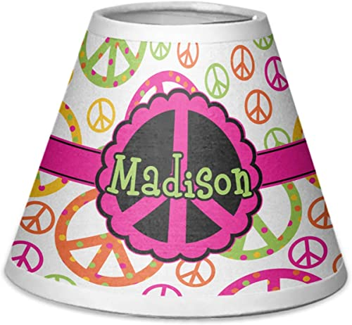 RNK Shops Peace Sign Chandelier Lamp Shade Personalized