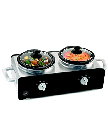 Gentil Amazon.com: Sensio 13493 Bella Cucina Double Slow Cooker Buffet Server:  Kitchen U0026 Dining