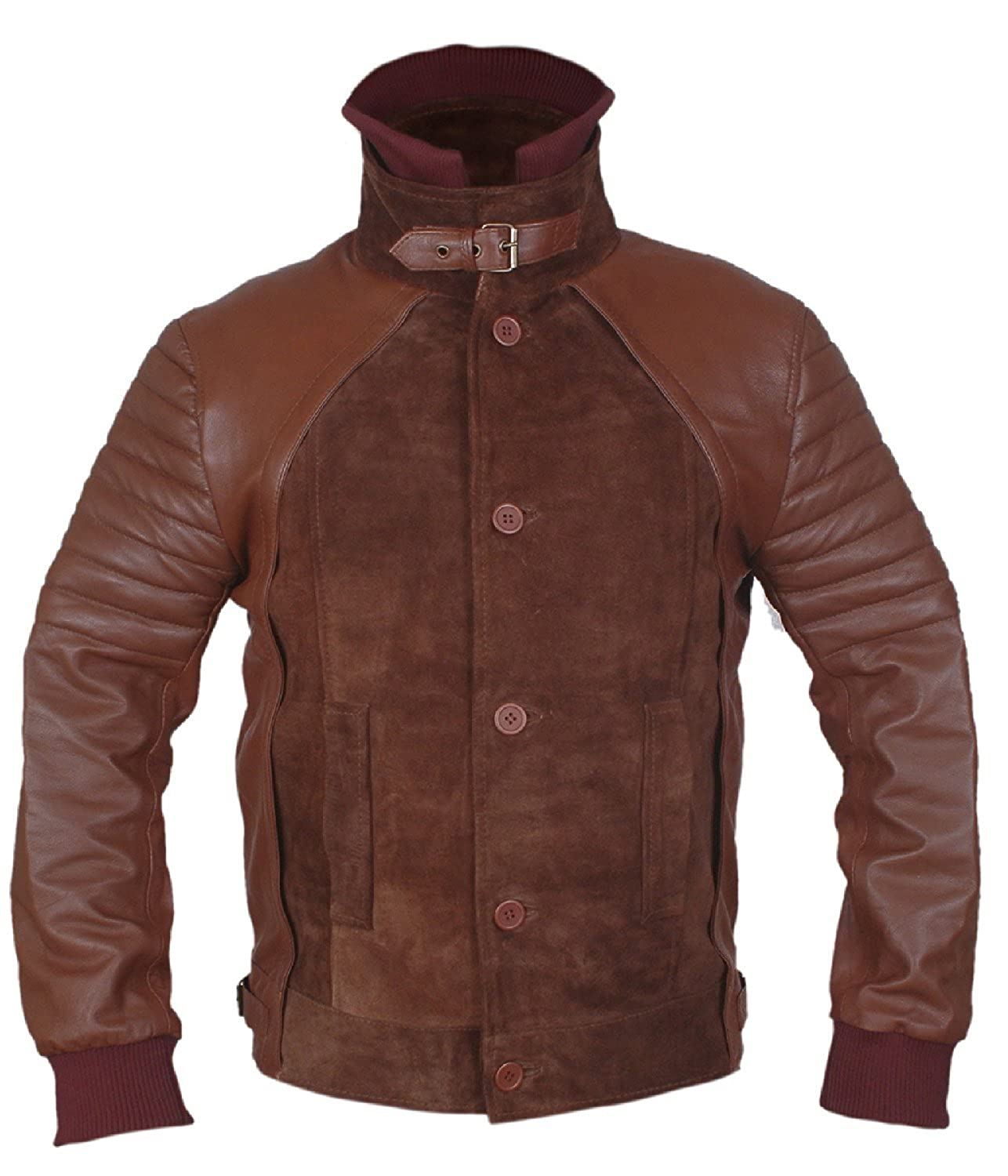 Horns'' Danial Radcliff Genuine Leather Jacket