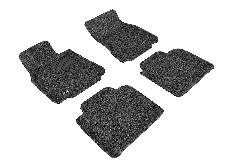 3D MAXpider Front Row Custom Fit Floor Mat for Select Lexus LS460//LS460L Models L1LX04012201 Classic Carpet Gray