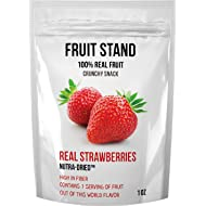 Fruit Stand Real Strawberries, 1 Ounce (Pack of 6)