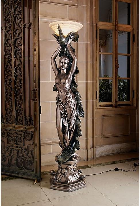 Amazon.Com: 6Ft Classic French Art Deco Decorative Peacock Lady