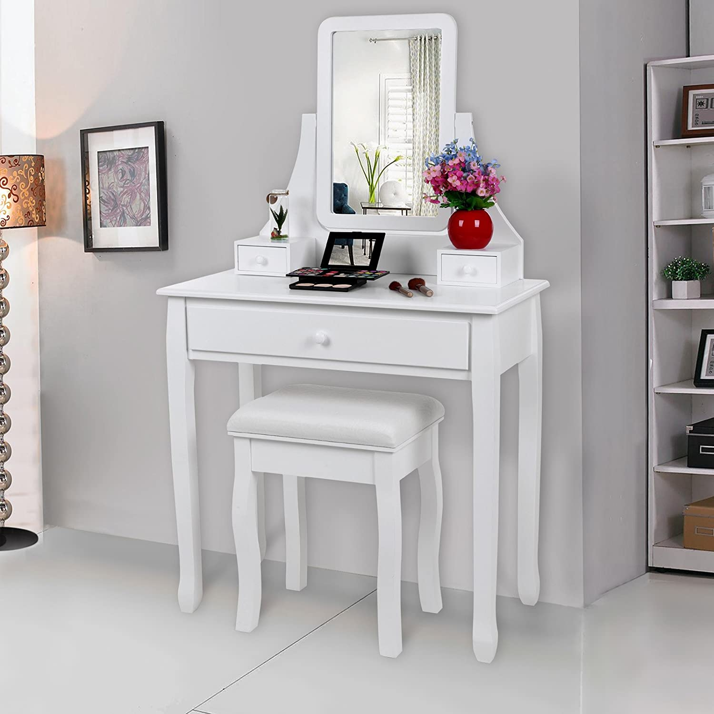 coiffeuse originale volcano cpc meuble coiffeuse de princesse par dco salons de coiffure. Black Bedroom Furniture Sets. Home Design Ideas