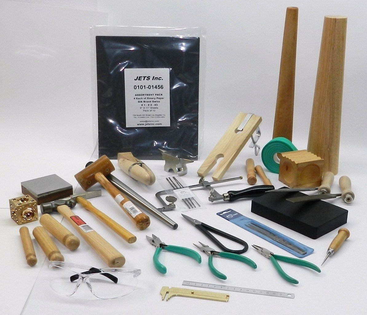 METALSMITH TOOLS KIT BEGINNERS -APPRENTICE METALSMITHING JEWELRY MAKING TOOL SET (LZ 13.10 LARGE BOX) by NOVEL (Image #2)