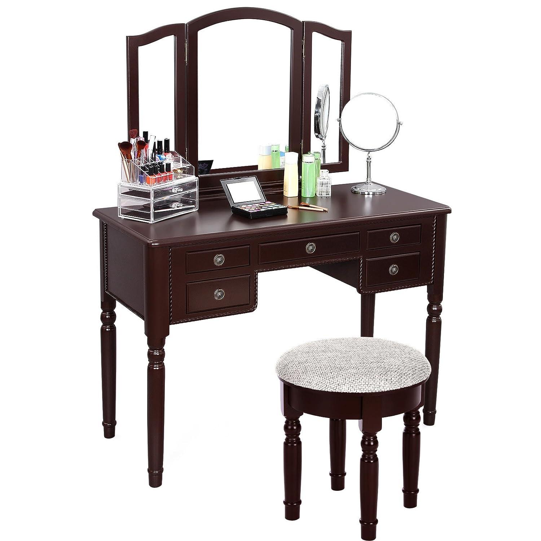 Small Bedroom Stool Amazoncom Vanities Vanity Benches Home Kitchen Vanity