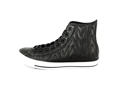 converse leather quilted