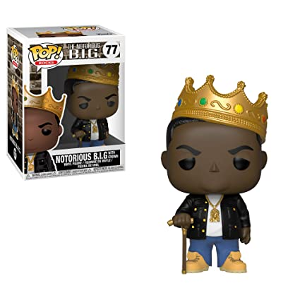 Funko Pop: Rocks: Notorious BIG Crown The,, 31550