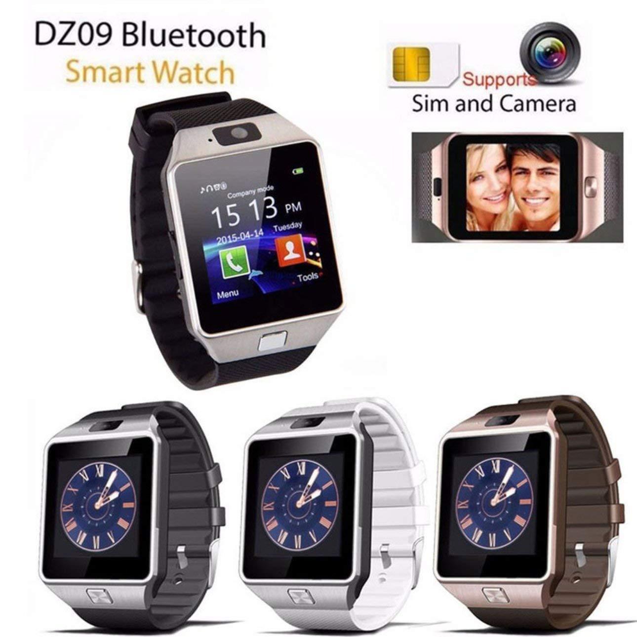 Ballylelly DZ09 Reloj Inteligente Compatible con cámara del ...
