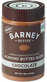 product image for BARNEY Almond Butter, Chocolate, Paleo Friendly, KETO, Non-GMO, Skin-Free, 16 Ounce