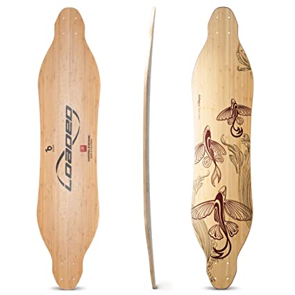 03c81c288739 Amazon.com : Loaded Boards Vanguard Bamboo Longboard Skateboard Deck ...