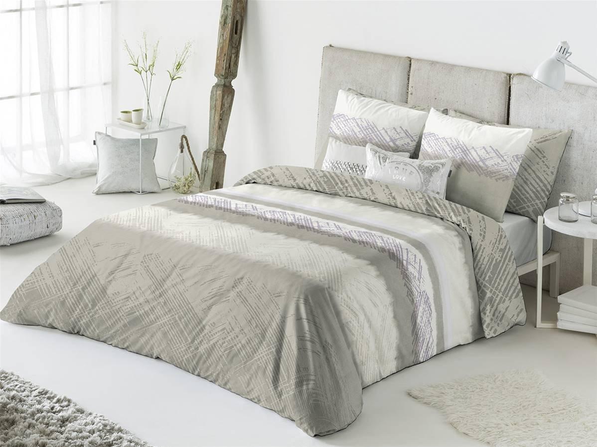 Casa Creativa Aranda Bettbezug mit Dekorativem Kissenbezug 240x270x1 cm beige B074SKCTL1 Bettwsche-Sets