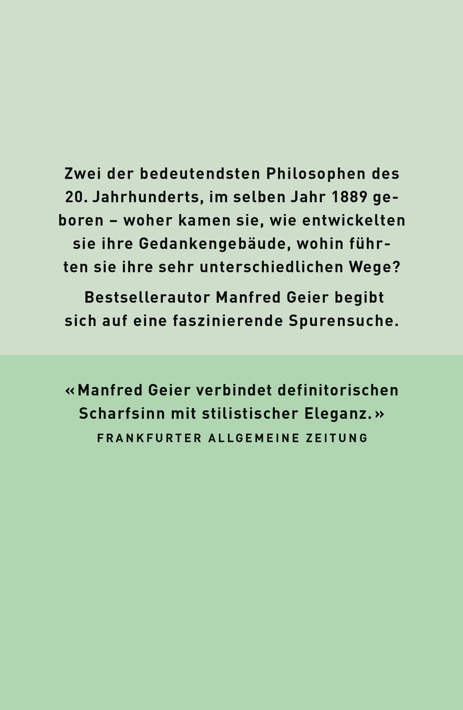Wittgenstein und Heidegger: Die letzten Philosophen: Amazon.de ...