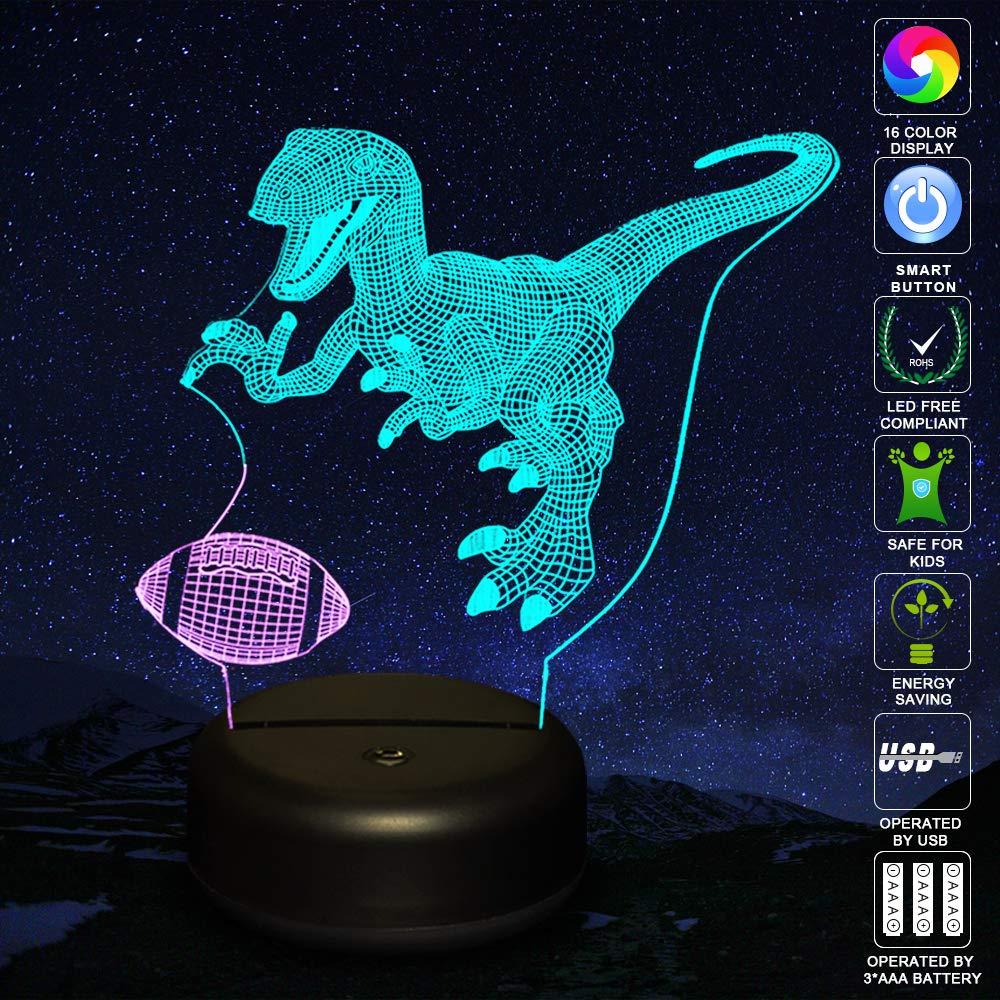 Navidad Regalos de Mujer Bebes Hombre Ni/ños Amigas LED L/ámpara de Mesa 3D Piano con Control Remoto Sensor Tacto USlinsky Regulable L/ámpara de Noche de Atm/ósfera Modo RGB Decoracion Cumplea/ños