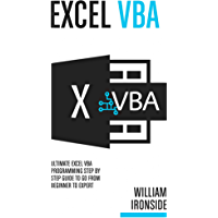 Excel VBA: Ultimate Excel VBA Programming Step By Step Guide to Go from Beginner to Expert (English Edition)