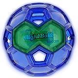 "Tangle Sport Matrix Airless NightBall Soccer Ball - Ultra Durable, No Pump, Floats in Water, Light Up Soccer Ball - 6.5""L"