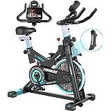 pooboo Magnetic Indoor Cycling Bike, Belt Drive Indoor Exercise Bike,Stationary Bike LCD Display for Home Cardio Workout Bike