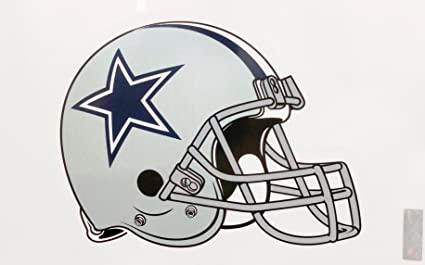 64e135ec Image Unavailable. Image not available for. Color: Dallas Cowboys Helmet  Reusable JUMBO Cling Auto Home Window ...