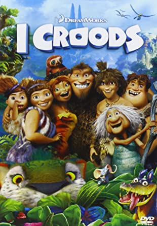 i croods + peluche box set dvd Italian Import