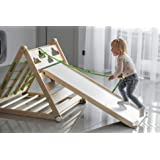 3in1 Triangle Kids Playhouse Montessori Toddler Gym Ladder Toy Baby Climber Slide Foldable Activity