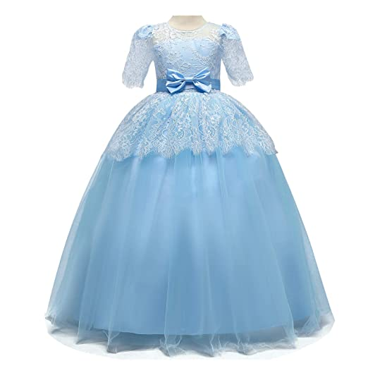 faee4f1106213 TTYAOVO Girls Pageant Ball Gowns Kids Chiffon Embroidered Wedding Party  Dress