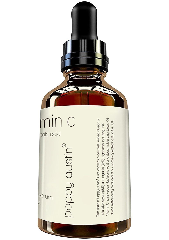 Suero de Vitamina C para Rostro - ENORME 60ml - Vegano, Cruelty-Free, Orgánico - Mejor Suero Natural Vitamina C, con Suero de Ácido Hialurónico, ...