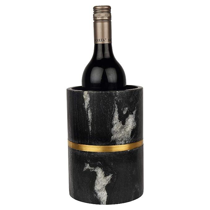 GAURI KOHLI Vino Elegante mármol Negro/champagnes ...