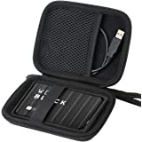 Hard Carrying Case for WD Black 2TB 4TB 5TB P10 Game Drive Portable External Hard Drive by Aenllosi