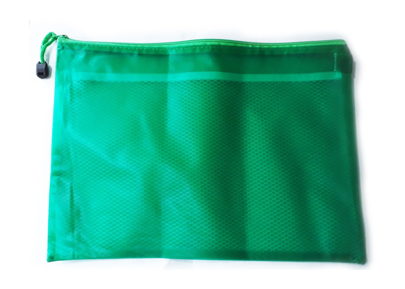 Giant Pencil Case Green School University College Office Stationary Divider UK