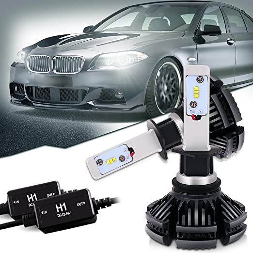 3 opinioni per QUAKEWORLD H1 50W PHI ZES LED chips Faro dell'automobile Kit 12000LM 6500K