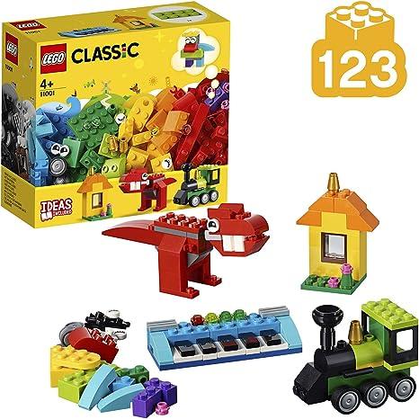 LEGO Classic - Ladrillos e Ideas, manualidades para niños y niñas para construir a partir de 4 años (11001): LEGO: Amazon.es: Juguetes y juegos
