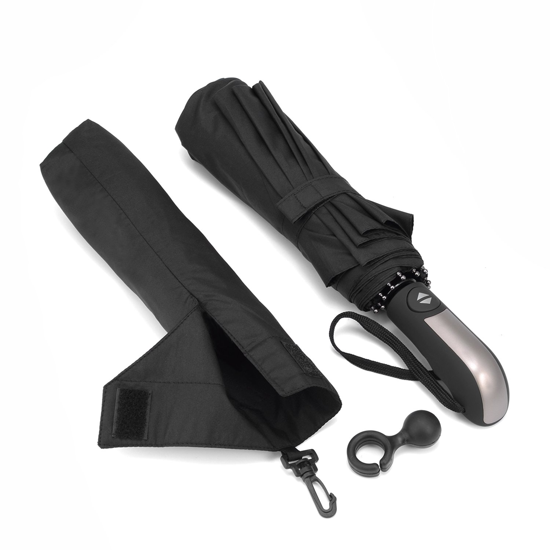 Paraguas Compacto y Resistente al Viento Bestico Paraguas Plegable con Apertura y