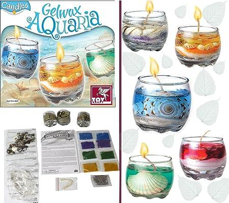 ToyKraft Gelwax Candles-Aquaria
