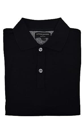 c298355a Banana Republic Men's Dress Polo Black Small at Amazon Men's ...