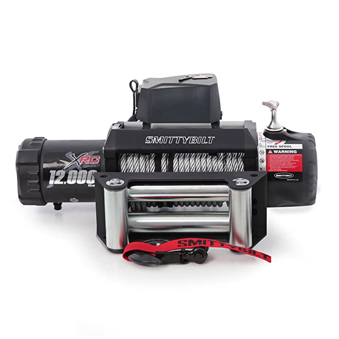 Best 12000 lb Winches: Warn vs  Smittybilt vs  Badlands
