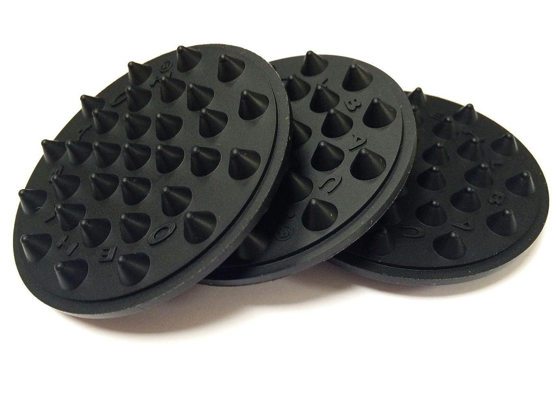 Oehlbach Shock Absorber (elastici, 8 pezzi, nero (55038) 8pezzi B003NVQH0U