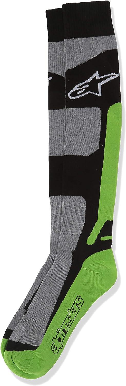 Green//Small//Medium Alpinestars Coolmax Tech Mens Off-Road Motorcycle Socks