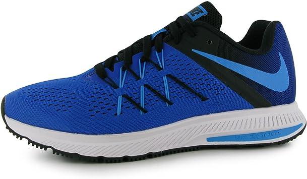 Nike Zoom Winflo 3 Zapatillas de Running para Hombre Azul/Azul/Negro Fitness Zapatillas Zapatillas, Blue/Blue/Black: Amazon.es: Deportes y aire libre