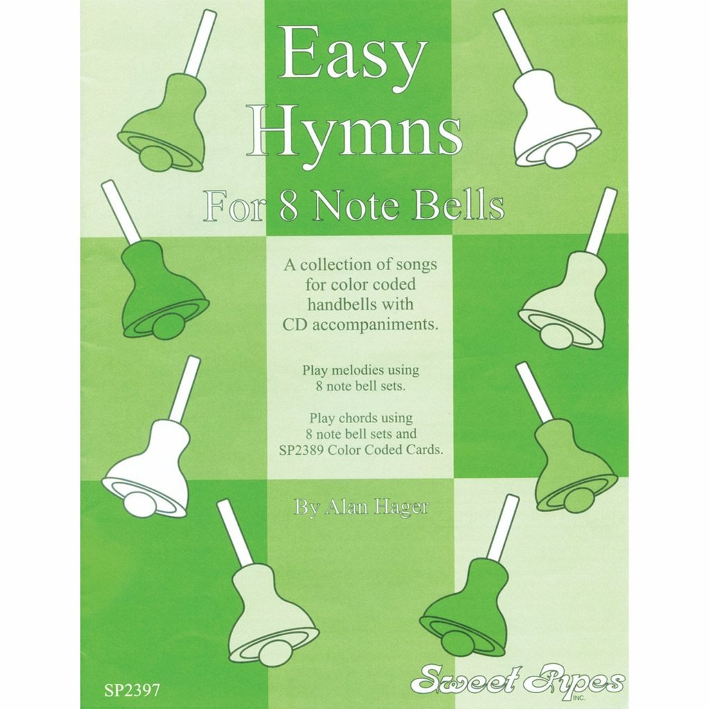 Westco Hager Easy Hymn Book for 8-Note Bells (12 Hymns; All Ages) by Westco