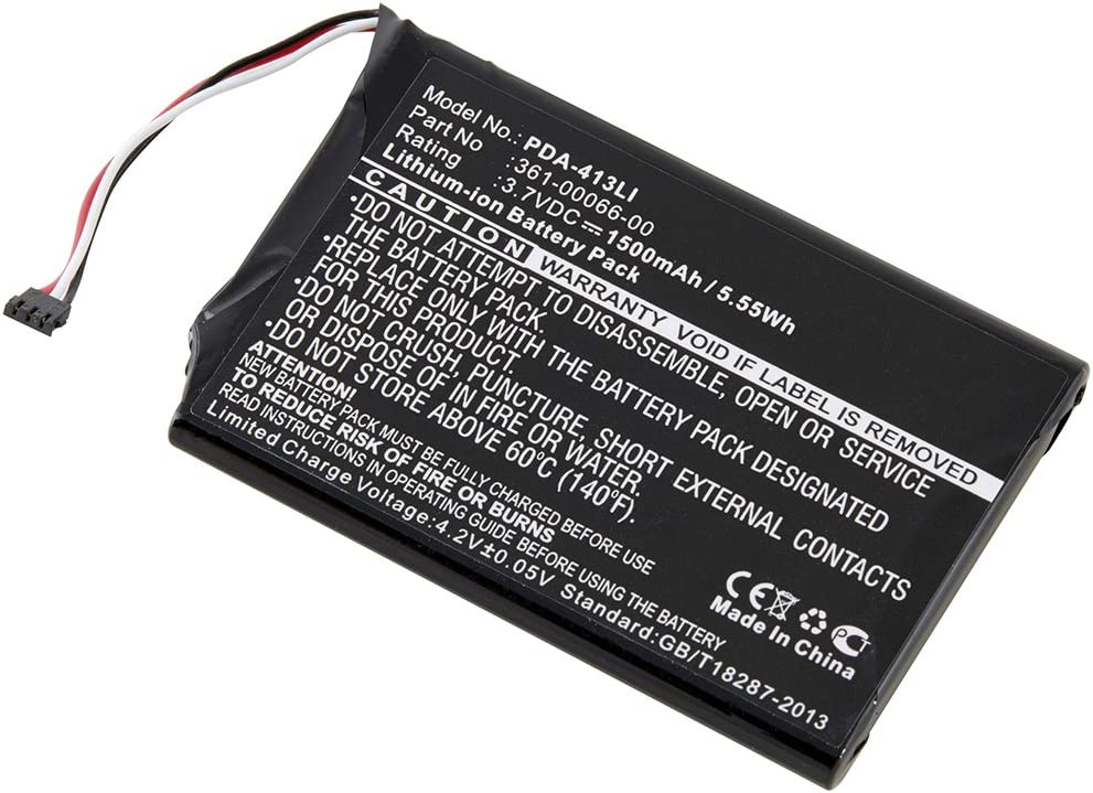 Battery 3.7 Volts GPS ICR//CGR//LIR PDA Dantona PDA-413LI Lithium Ion